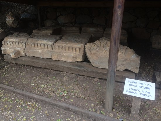 Golan Heights: Some unearthed masonry.