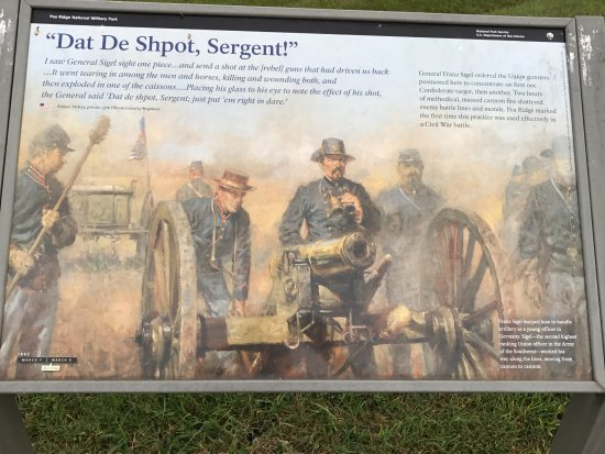 ‪‪Garfield‬, أركنساس: Gen Franz Sigel's artillery had one of their best days here‬