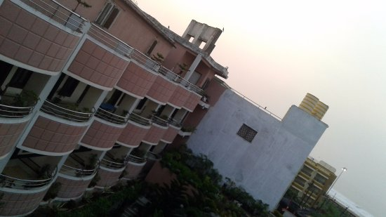 Hotel Gajapati: View from Sea Facing Rooms