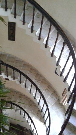 Hotel Gajapati: Stair Case of Hotel