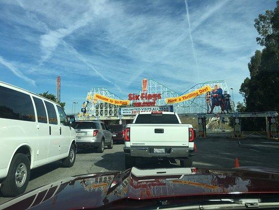 Santa Clarita, Kalifornien: Quelques photos à l'arrivée