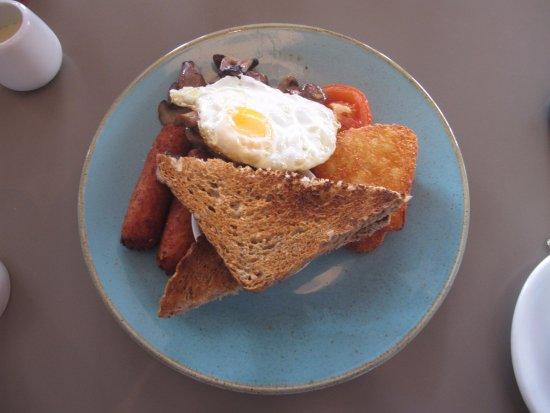 Clevedon, UK: The veggie breakfast