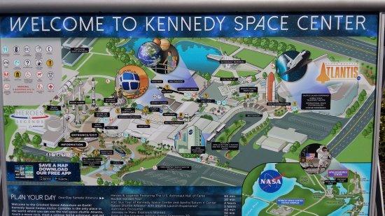 nasa space center map - photo #15