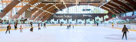 Skoda Arena Ice Skating Rink