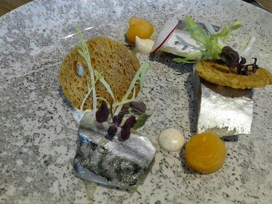 Wageningen, เนเธอร์แลนด์: starter of mackerel - so smooth!!