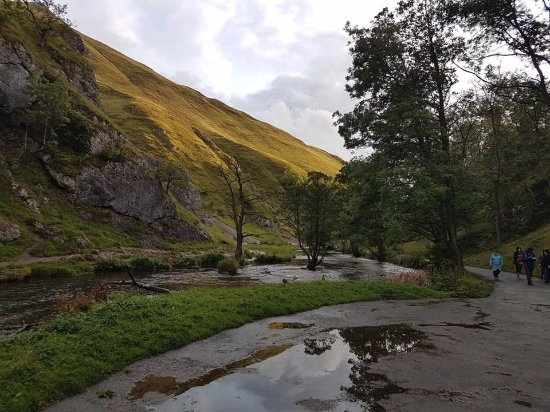 Ashbourne, UK: Start of Dovedale Walk