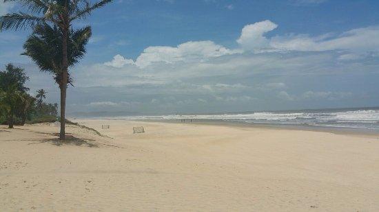 Quiet location a beautiful beach
