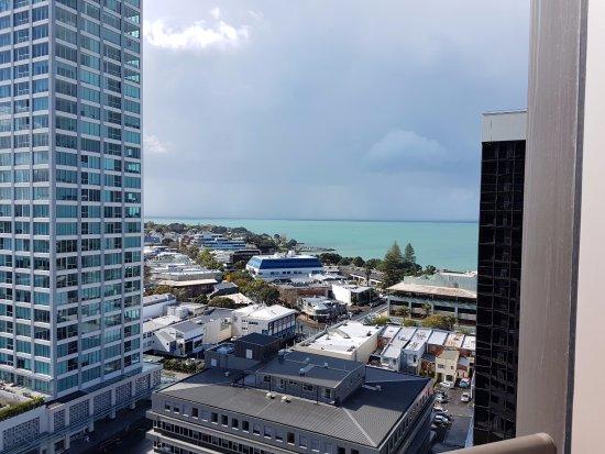 Takapuna, Nueva Zelanda: View from Room 1410