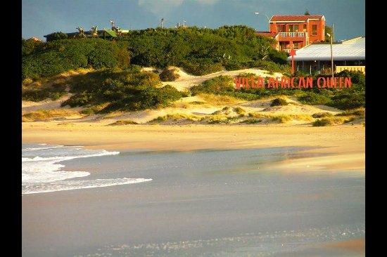 Jeffreys Bay, Zuid-Afrika: Main beach