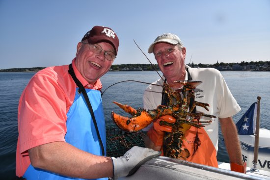 Rockport, MA: Enjoying the catch!
