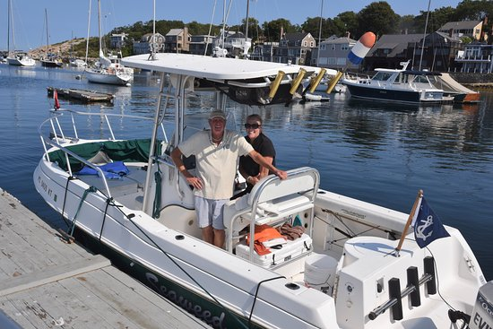 Rockport, MA: Captain Steve and Katie