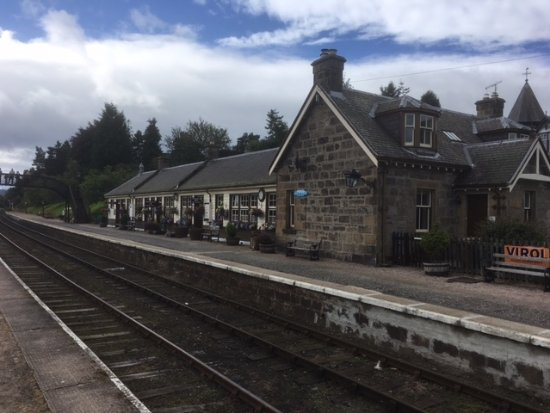 Aviemore, UK: Boat of Garten station building