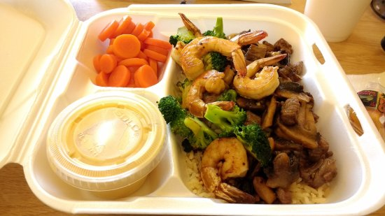 Mountain City, TN: Steak and Shrimp <3