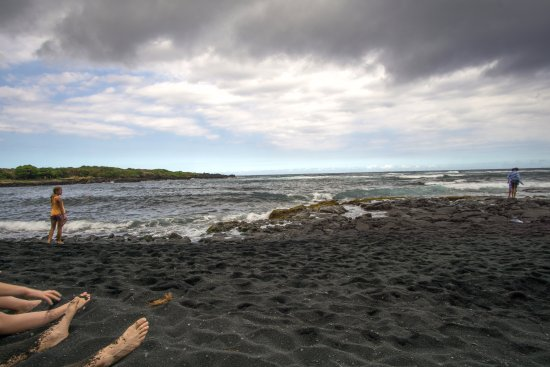Hawaii, HI: View from the beach