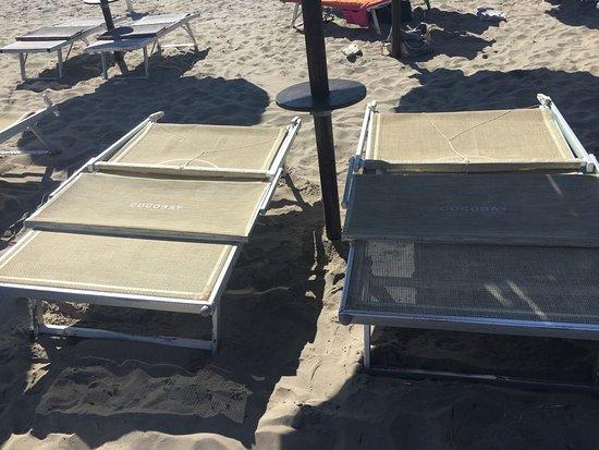 Coco beach alimini vista spiaggia dal bar foto di - Bagno lucia alimini ...