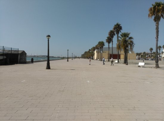 Puerto Real, Spain: Paseo Maritimo