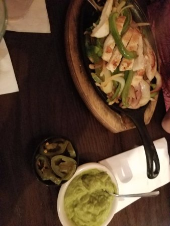 Grand Blanc, MI: Fajita dinner