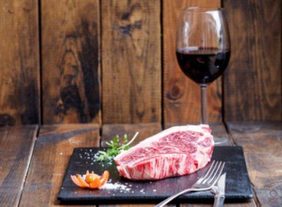 Las Rozas, Spain: Entrecote carne roja