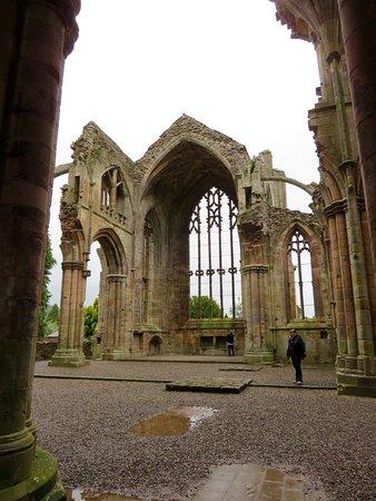 Melrose, UK: Inside the Abbey