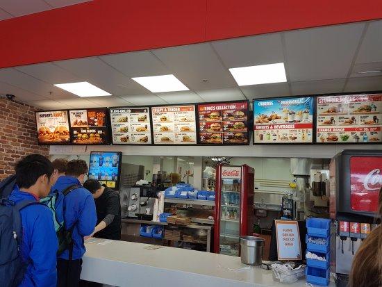 Burger King Takapuna Beach