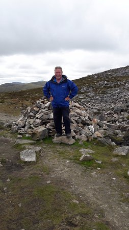 Perth ve Kinross, UK: Pit stop at a cairn
