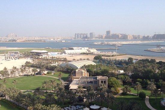 Le Royal Meridien Beach Resort & Spa: views of the palm and marina