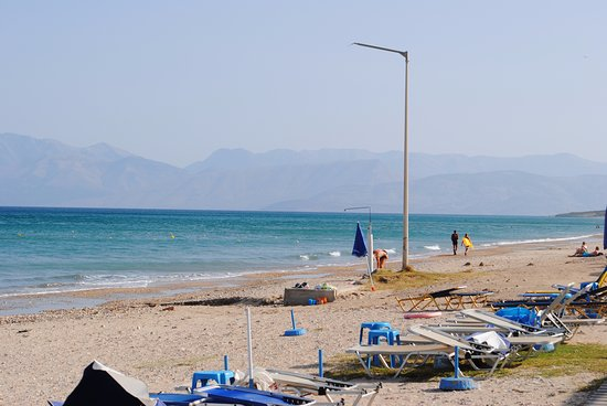 Acharavi, Greece: Before the crowds arrived