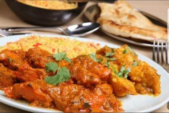 Zayka Authentic Indian Cuisine: Chicken Tikka Madras with Pulau Rice
