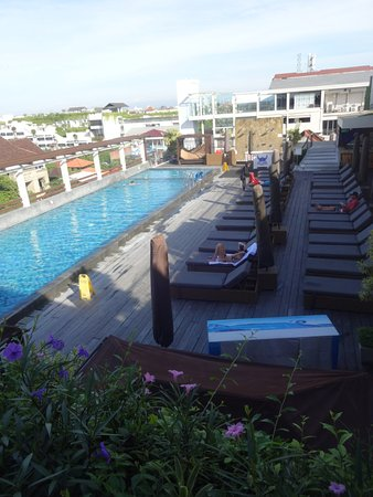 The ONE Legian: Swimming pool in roof top