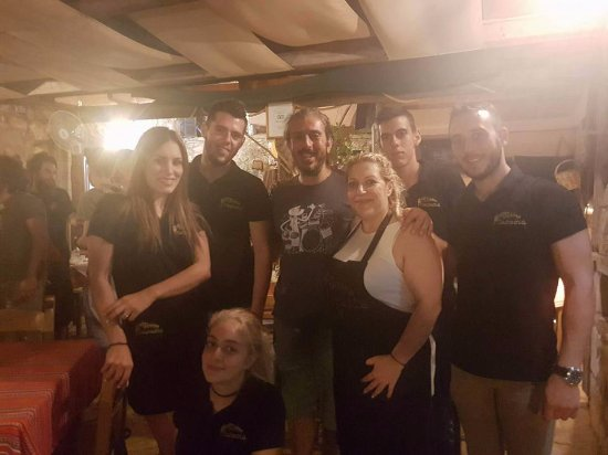 Vamos, Greece: xaroulis and parasia team