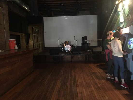 Photo of Nightclub Emporium Arcade Bar at 1366 N Milwaukee Ave, Chicago, IL 60622, United States