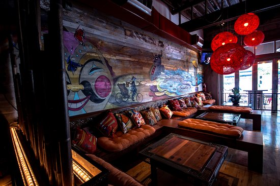 Interior Shot  Lounge  - Picture of Kapow Noodle Bar, West Palm