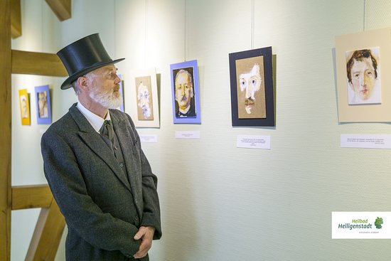 Heilbad Heiligenstadt, Niemcy: Wechselnde Ausstellungen bereichern den Museumsbesuch