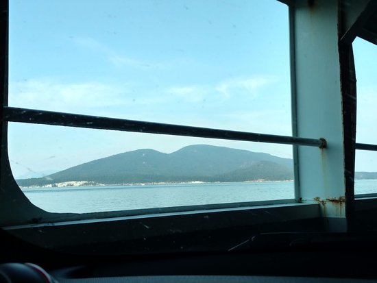 Anacortes, WA: view on the ferry