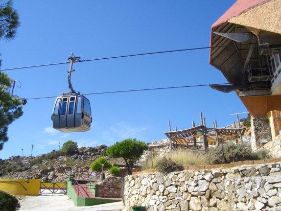 Teleférico Benalmadena: Cable cars at the top