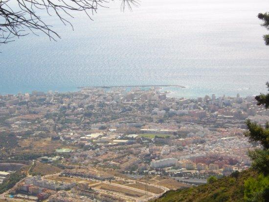 Teleférico Benalmadena: View from the top