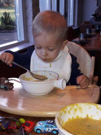 Auchterarder, UK: Суп с ветчиной! После супа с грибами!