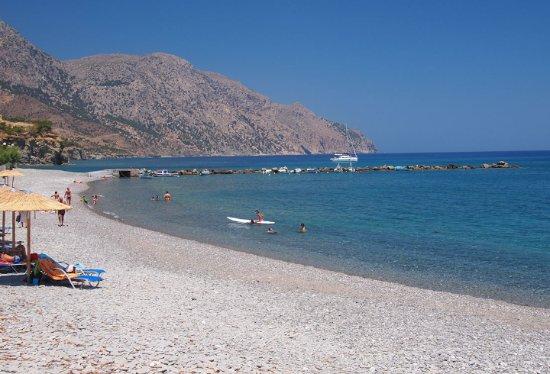 Διαφάνι, Ελλάδα: diafani beach