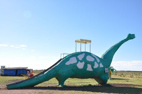 Williams, AZ: Dinosaur slide