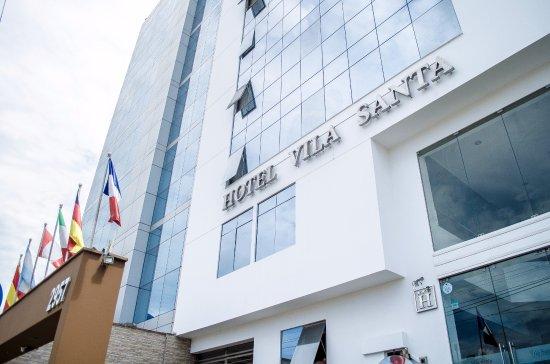 Hotel Vila Santa: Fachada