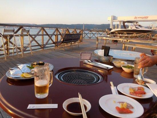Shunan, Japan: 食事風景