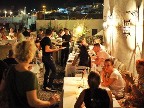 Odyssia Restaurant : roof garden