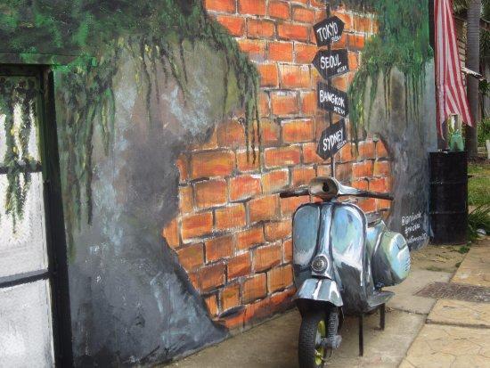 Kuala Terengganu, Malaysia: Street art