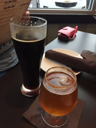 Haverhill, MA: hubbies drink & mine