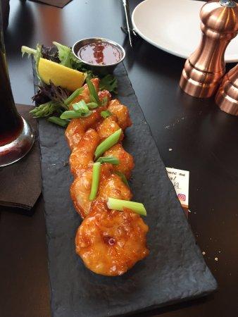 Haverhill, MA: spicy delicious shrimp app