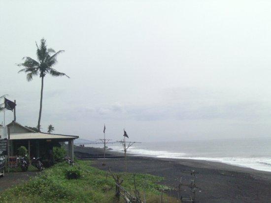 Bali, Indonésia: Keramas beach