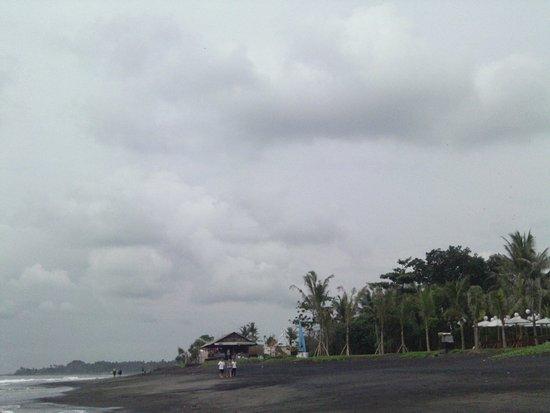 Bali, Indonésia: Keramas beach with trees collection