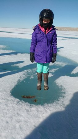 Arctic Watch Lodge: Clear ice