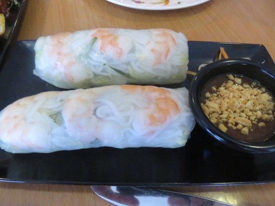 Howell, NJ: Shrimp Spring Rolls