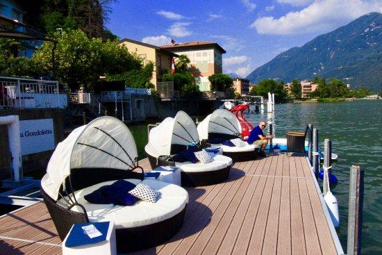 Melide, Suiza: Feriengefühle pur!